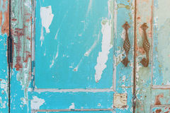 Porta velha da casa Fotografia de Stock