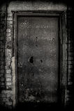 Porta velha da fábrica Fotografia de Stock Royalty Free