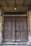 Porta velha de China Imagem de Stock