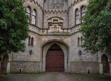A porta velha do castelo de Marienburg, Alemanha foto de stock royalty free