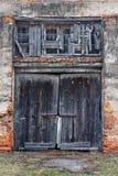 Porta velha do celeiro Foto de Stock