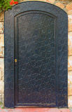 Porta velha do ferro Foto de Stock Royalty Free