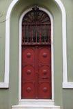 Porta velha do ferro Fotos de Stock