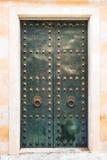 Porta velha do metal Fotos de Stock Royalty Free