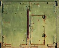Porta velha fechada Fotos de Stock