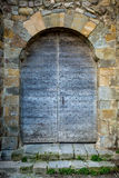Porta medieval velha. Carcassonne Imagem de Stock Royalty Free