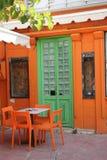 Porta verde Fotografia de Stock Royalty Free