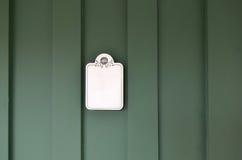 Porta verde Fotografia Stock Libera da Diritti