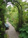 A porta verde Foto de Stock Royalty Free