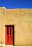 Porta vermelha Fotografia de Stock