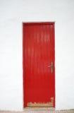 Porta vermelha Fotografia de Stock Royalty Free