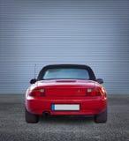 Porta vermelha do metal do eith do carro Fotografia de Stock Royalty Free