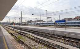 Porta Vescovo Railway Station Stock Photography