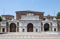 Porta Vescovo  Verona Stock Photo