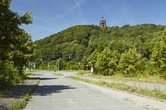 Porta Westfalica - Kaiser Wilhelm Memorial royalty free stock images