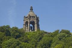 Porta Westfalica - Kaiser Wilhelm Memorial Stock Image