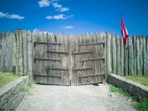 porta 53-Wooden Fotos de Stock Royalty Free