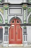 Portaal van Cranach-huis in Weimar Royalty-vrije Stock Foto