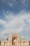 Portaal van madrasa Burukhon Royalty-vrije Stock Foto's