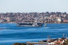 Portaaviones USS Theodore Roosevelt fotos de archivo libres de regalías