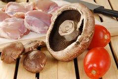 Portabello mushroom Stock Image