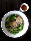 Portabello mushroom salad Stock Images