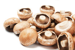Portabello mushrooms Royalty Free Stock Image