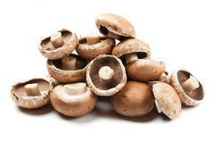 Portabello mushrooms Stock Photos
