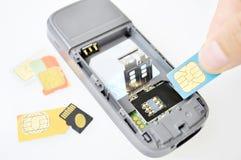 Portable Photos libres de droits