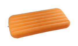 Portable air bed. For relax time or outdoor picnic Stock Image