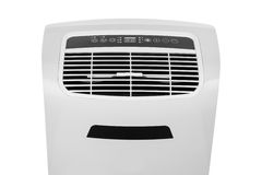 Portable air conditioner or dehumidifier isolated on white background Royalty Free Stock Photography