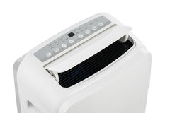 Portable air conditioner or dehumidifier isolated on white background Stock Photos