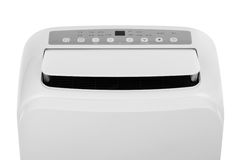 Portable air conditioner or dehumidifier isolated on white background Stock Images