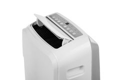 Portable air conditioner or dehumidifier isolated on white background Royalty Free Stock Images