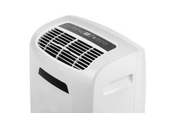 Portable air conditioner or dehumidifier isolated on white background Royalty Free Stock Photo