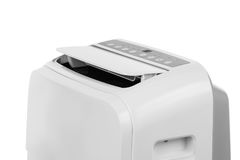 Portable air conditioner or dehumidifier  on white background Stock Image