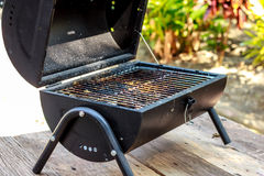 Portable barbecue Royalty Free Stock Images
