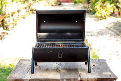 Portable barbecue Royalty Free Stock Image