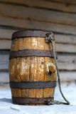 Portable barrel. Royalty Free Stock Photo