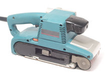 Portable-belt sander Royalty Free Stock Images