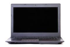 Portable black computer Stock Photos