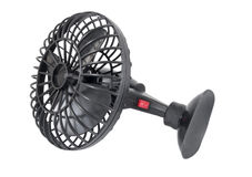 Portable black mini fan Stock Photography