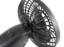 Portable black mini fan Stock Image
