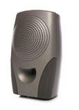 Portable black speaker Royalty Free Stock Image