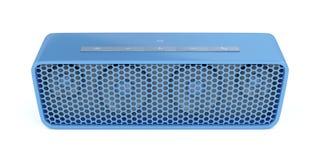 Portable bluetooth speaker. On white background Stock Image