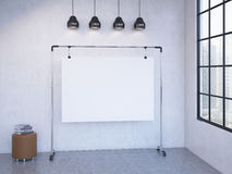 Portable board in the room Stock Photography