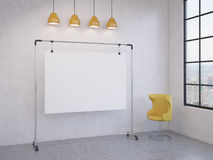 Portable board in the room Stock Images