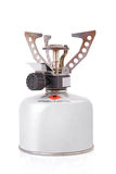 Portable camping stove Stock Image