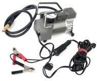 Portable car air compressor Stock Photos