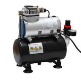 Portable car air compressor. Stock Images